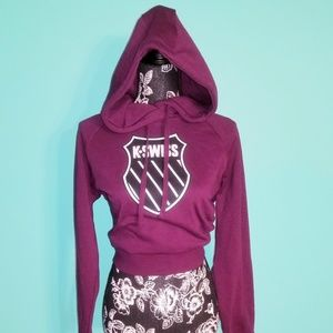 K•Swiss Grind Cropped HoodieBoutique for sale